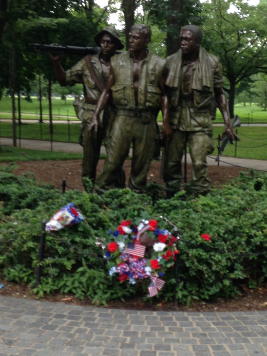 THREE VIETNAM VETS