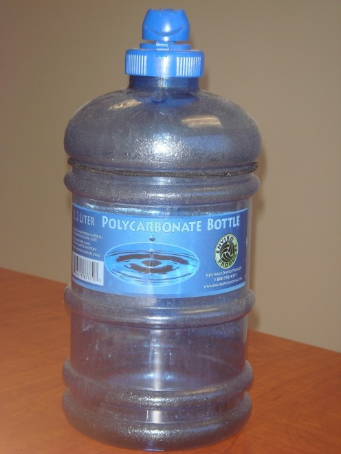Example of a code 2 plastic product