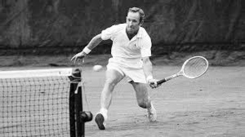 Rod Laver is one of the top tennis players in PGA history. His speed, power and overall skill made him a tennis legend.
