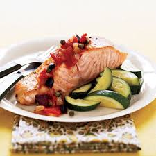 Fish is high in the omega fatty acids.