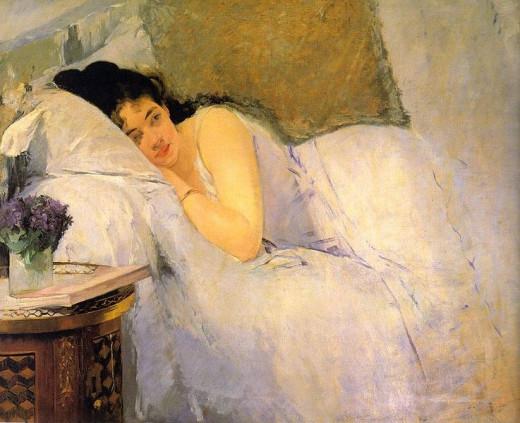 Sometimes perimenopause symptoms make it hard to sleep.