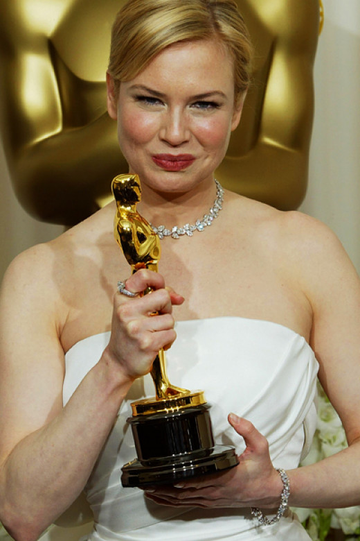 Zellweger on Oscar night