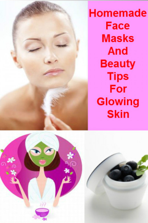 Homemade Beauty Tips, Face Mask And Best Cream For Glowing ...