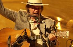 Neil Young and Martin Acoustic Guitars