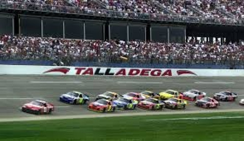 Talladega, Alabama hosts many important Nascar events annually. Nascar is one of Alabama's most watched sports and it continues to grow.