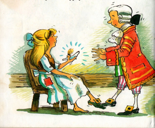 "Picture from ""Cinderella"" Illustrated by Pam Storey and retold by Grace De la Touche. Grandreams Limited, London, 1992"