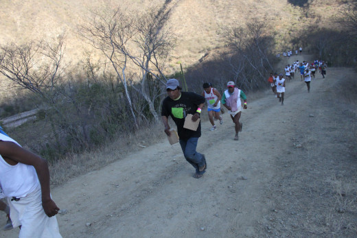 Copper Canyon ultra marathon in Urique