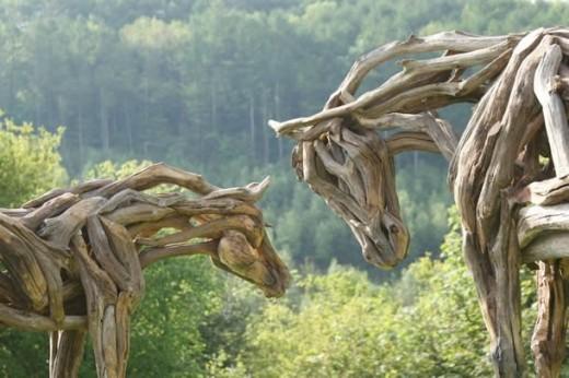 """""""Nightmare & Daydream III"""" sculpture"""