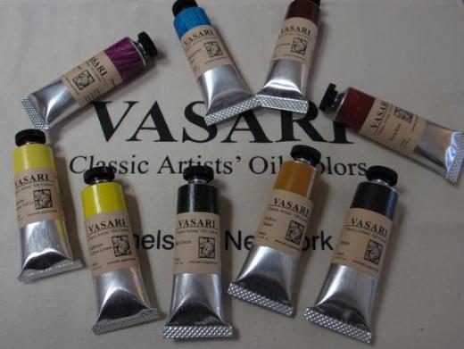 Vasari Oil Paints