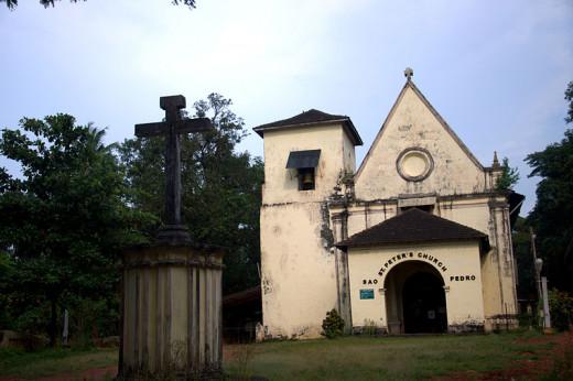 Church of St. Peter, An Ancient Church in Goa.