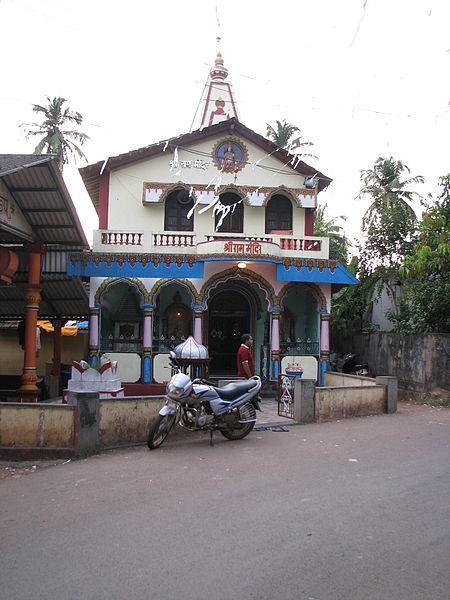 Raibandar Ram Temple, goa