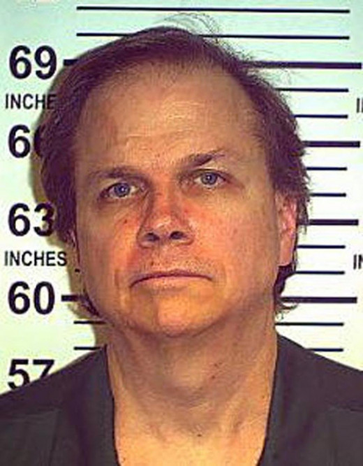 Mark David Chapman's headshot after killing John Lennon.