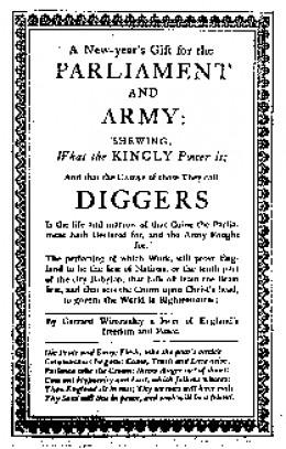 A Digger pamphlet