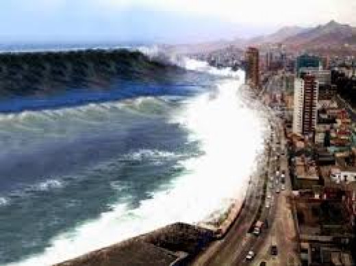 When the Polar Shift does begin the largest loss of life will be from large coastal tsunami's like this one.