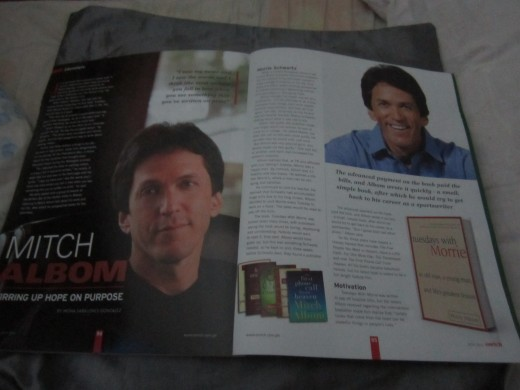 First two pages of my article in Enrich, July 2014 issue