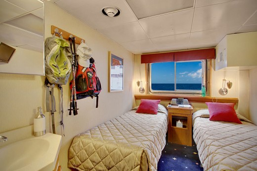 Small cabin space