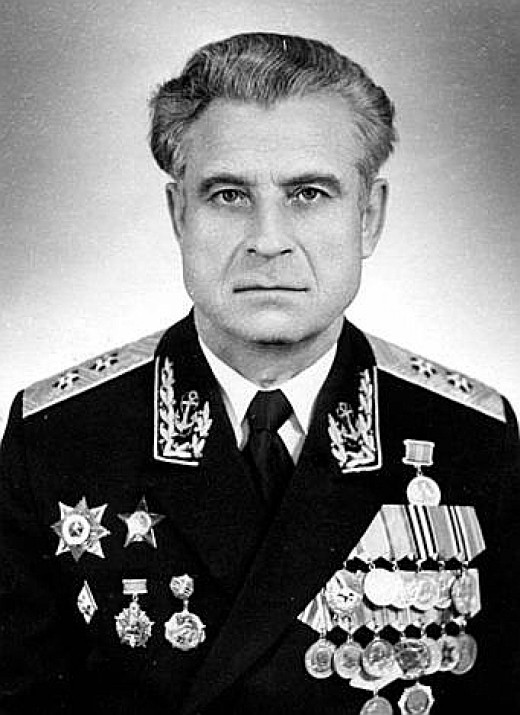 Vasili Arkhipov, the man who saved the world.
