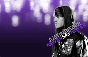 Never Say Never By Justin Beiber