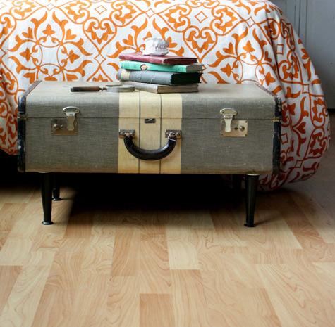 Merveilleux A Custom Vintage Suitcase End Table: Vintage Upcycled Furniture