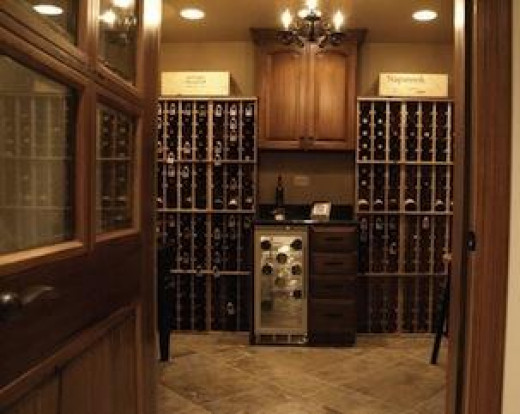Build your own wine cellar home wine cellars for Building wine cellar