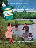 Salem Menthol Ad - Greenery As Metaphor For Freshness