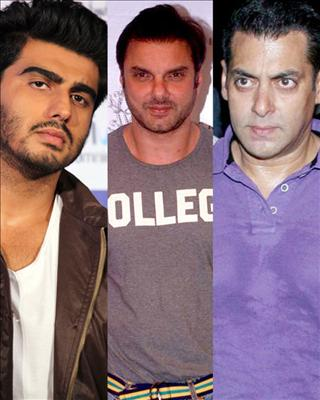 Apparently Sohail Khan approached Arjun Kapoor for his next film, My Punjabi Nikaah which was supposed to star Salman and Kareena in in 2004.bollywood controversies news only on biscoot showtym : http://www.biscoot.com/showtym