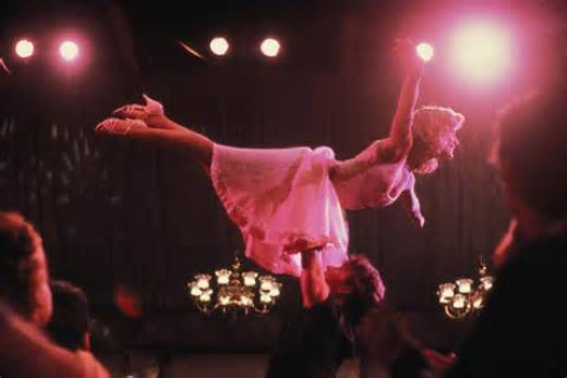 "Swayze and Grey in ""Dirty Dancing"""