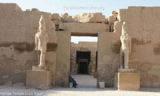 Another part of the Luxor Temple
