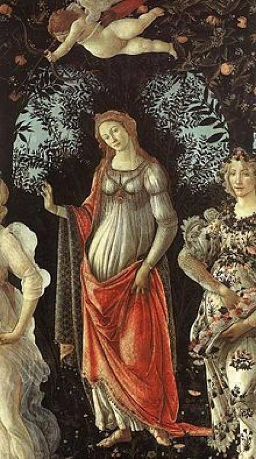 Primavera and Cupid