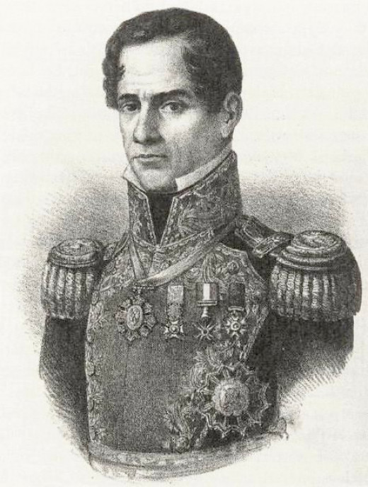 Dictator/General Santa Anna