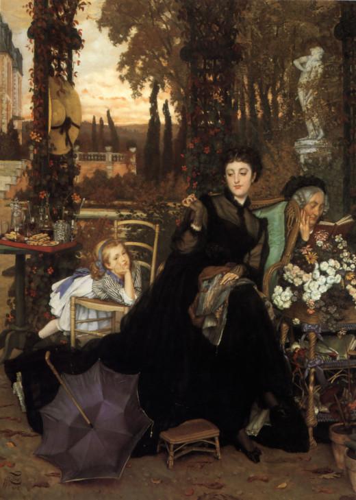 A Widow- By James Tissot