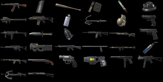 The weapons and equipment of BFH