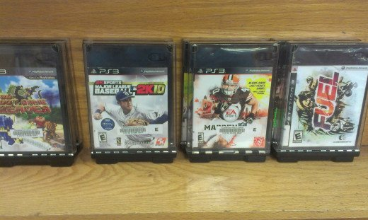 Who knew that you can borrow PS3, XBox and Wii games from the library?