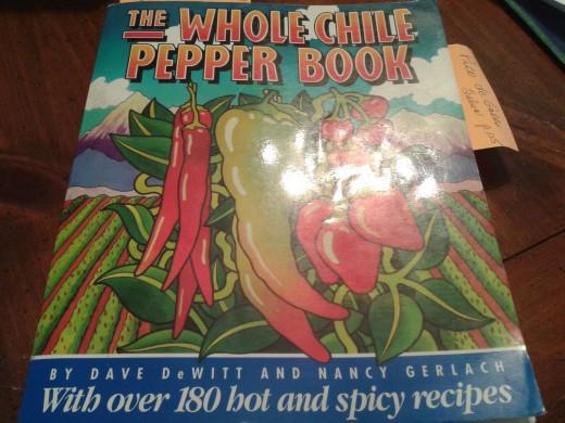 Whole chili pepper book