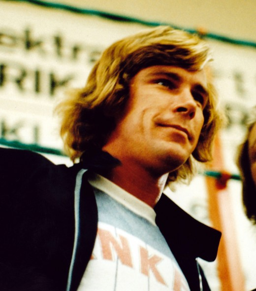 James Hunt 1977 Rush