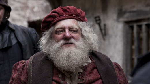 Simon Russell Beale as Sir John Falstaff....a character that was meant to bring laughter in the original play has now been reduced to a pathetic old man who makes you wallow in pity than mirth.