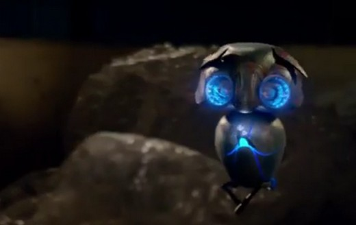 Echo, the alien robot from the family friendly film Earth to Echo