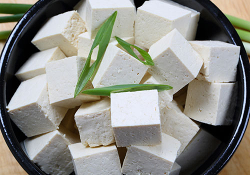 Tofu - bland, cold and conservative.
