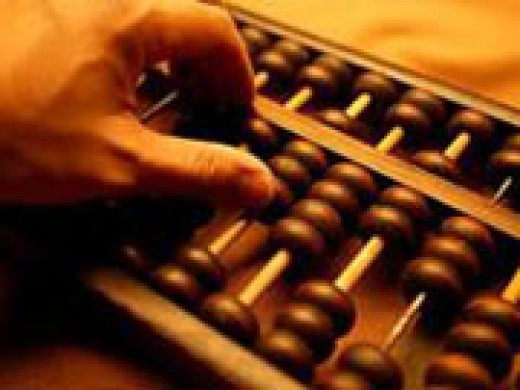 Chinese Abacus - counting Tool