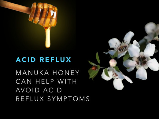 Try a spoonful of Manuka honey on bread or toast as a healthy snack. Keeps acid reflux symptoms tamed too!