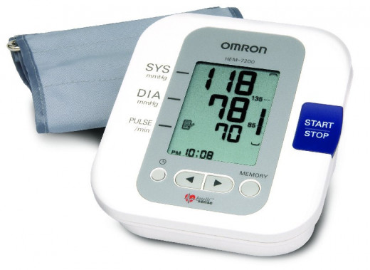 This is a common blood pressure monitor