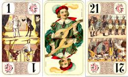 French Tarot Nouveau circa 1910