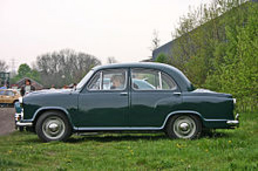 Side view of original Morris