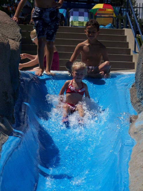 Wally World Slide (by permission of Water World)
