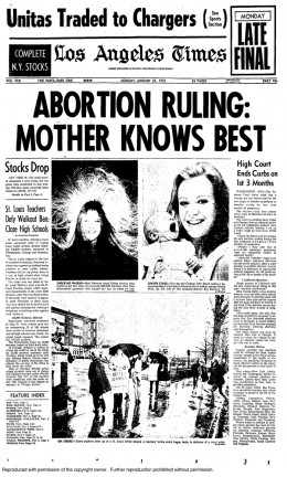 roe vs wade summary essays Doe v bolton a companion case to roe v wade, doe v bolton was an abortion case that happened in georgia around the same time (decision on the same day) that its texas counterpart did.