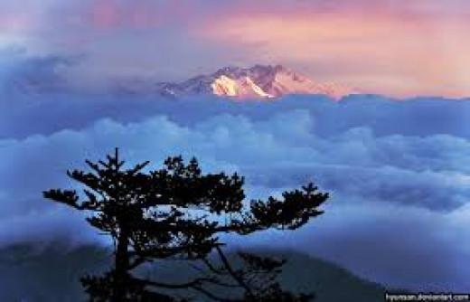Sunset Over Kanchenjunga