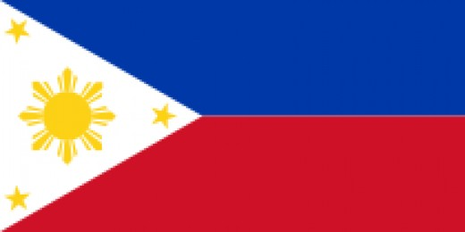 The National Flag of the Philippines