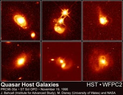 Brightest mystery ever - quasar