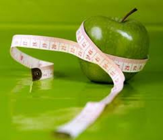 Losing weight by planning your diet and exercises!