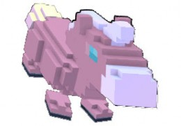 This little one is Cotton Candy! There is also a mount named Sprinkles, so yes this is a Brony Approved game!
